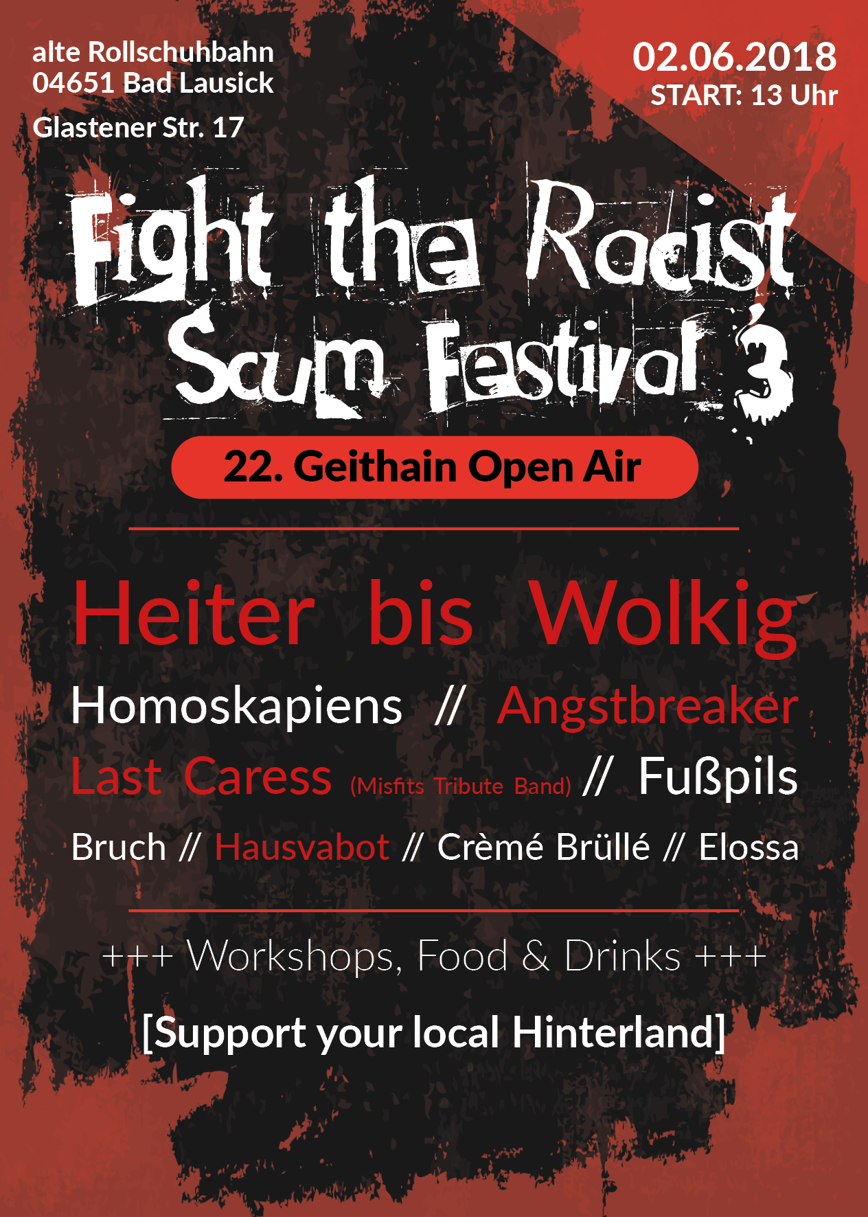 Fight the Racist Scum Festival 3